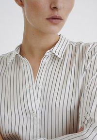 InWear - LEONORE  - Button-down blouse - black/white - 4