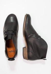 HUB - CHUCKIE - Kotníková obuv - black/natural - 1