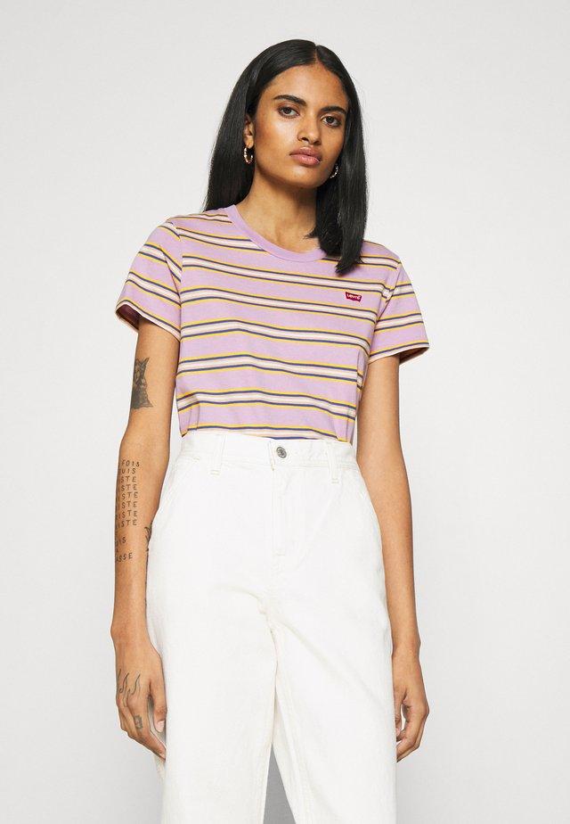 PERFECT TEE - T-shirt z nadrukiem - borough lavender frost