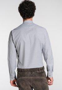 Spieth & Wensky - NEO-HEMD LA SLIM FIT - Shirt - grey - 1