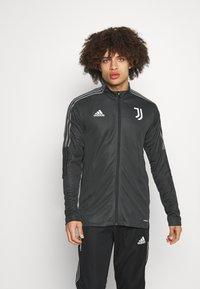 adidas Performance - JUVENTUS TURIN SUIT - Fanartikel - carbon/black - 0