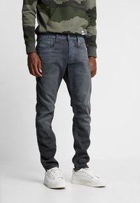 G-Star - 3301 SLIM - Jean slim - anthrazit - 0