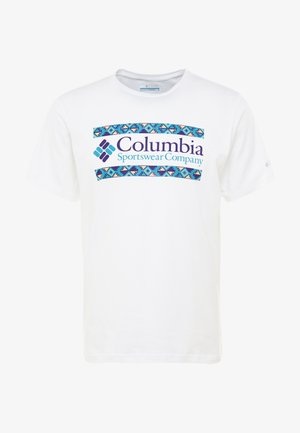 RAPID RIDGE™ GRAPHIC TEE - T-shirt print - white