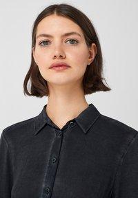 Q/S designed by - Button-down blouse - black - 3