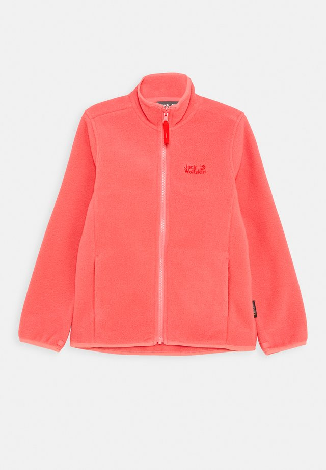 BAKSMALLA JACKET KIDS - Fleece jacket - coral pink