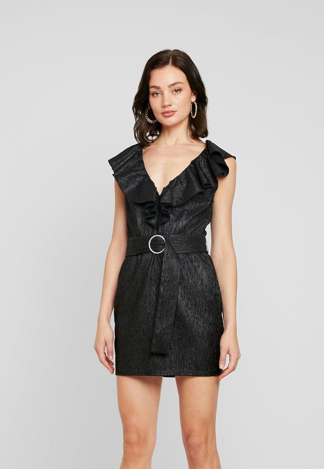 FLIRTY DECO DRESS - Vestito elegante - black