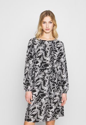 VIDIANA LUCY DRESS - Day dress - black/white