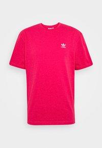 TREFOIL TEE - Print T-shirt - powpnk/white