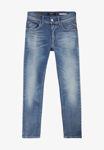 HYPERFLEX STRECH  - Jeans Skinny Fit - light blue denim
