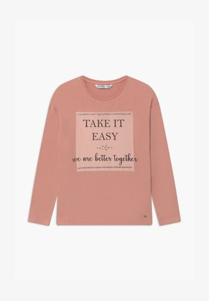 HONESTY - Long sleeved top - pink