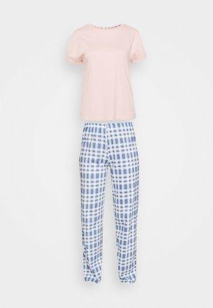CHECK  - Pijama - pink mix