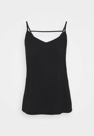 ONLNOVA LIFE PARIS SINGLET SOLID - Top - black