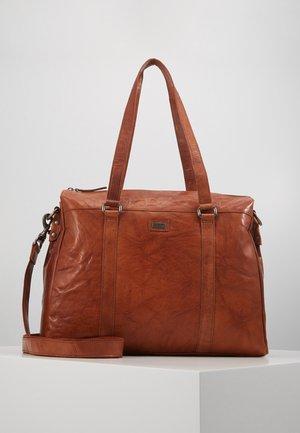 Briefcase - brandy