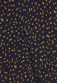 mine to five TOM TAILOR - SKIRT PRINTED MIDI - A-line skirt - navy/orange - 2