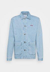 Maison Labiche - WORKER JACKET AMORE - Giacca di jeans - denim bleached - 0