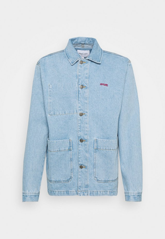 WORKER JACKET AMORE - Denim jacket - denim bleached