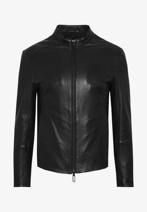 CABAN - Veste en cuir - black