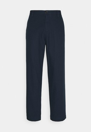 TROUSER - Broek - dark navy