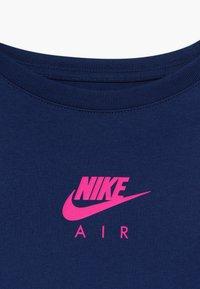 Nike Sportswear - TEE CROP AIR - Camiseta estampada - blue void - 3