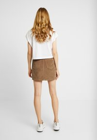 Hollister Co. - Minisukně - brown/toasted coconut - 2