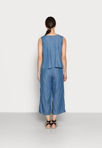 edc by Esprit - Jumpsuit - blue medium wash - 2
