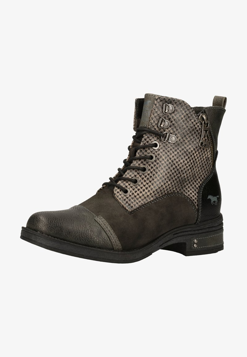 Mustang - Lace-up ankle boots - graphit 259
