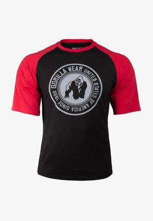 TEXAS - T-shirt print - red