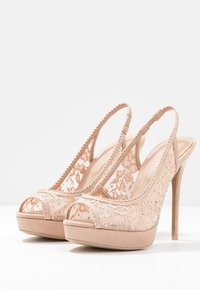 ALDO - DRERRADIA - Peeptoe heels - bone - 4