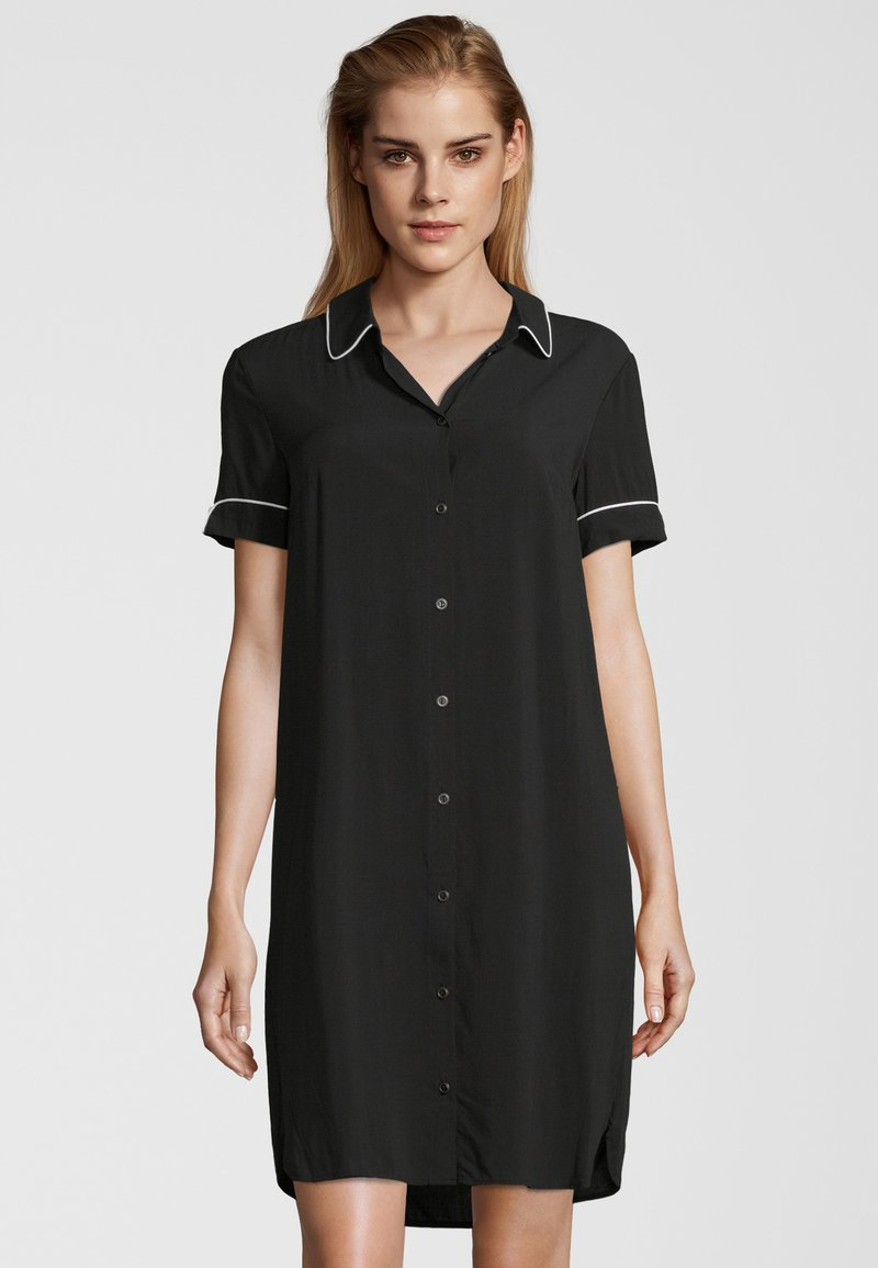 Schiesser - Nightie - black
