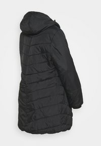 Modern Eternity - LEXIE LENGTH CHEVRON PUFFER MATERNITY - Winter coat - black - 2