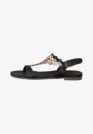 Sandals - black/rose met