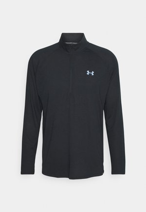 STREAKER HALF ZIP - Sports shirt - black
