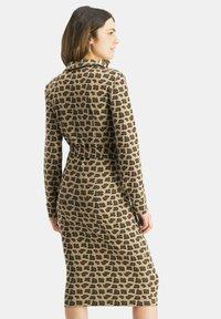Nicowa - PATINO - Shift dress - braun - 2