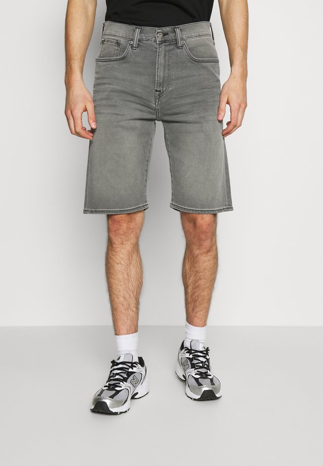 Shorts di jeans - grey denim