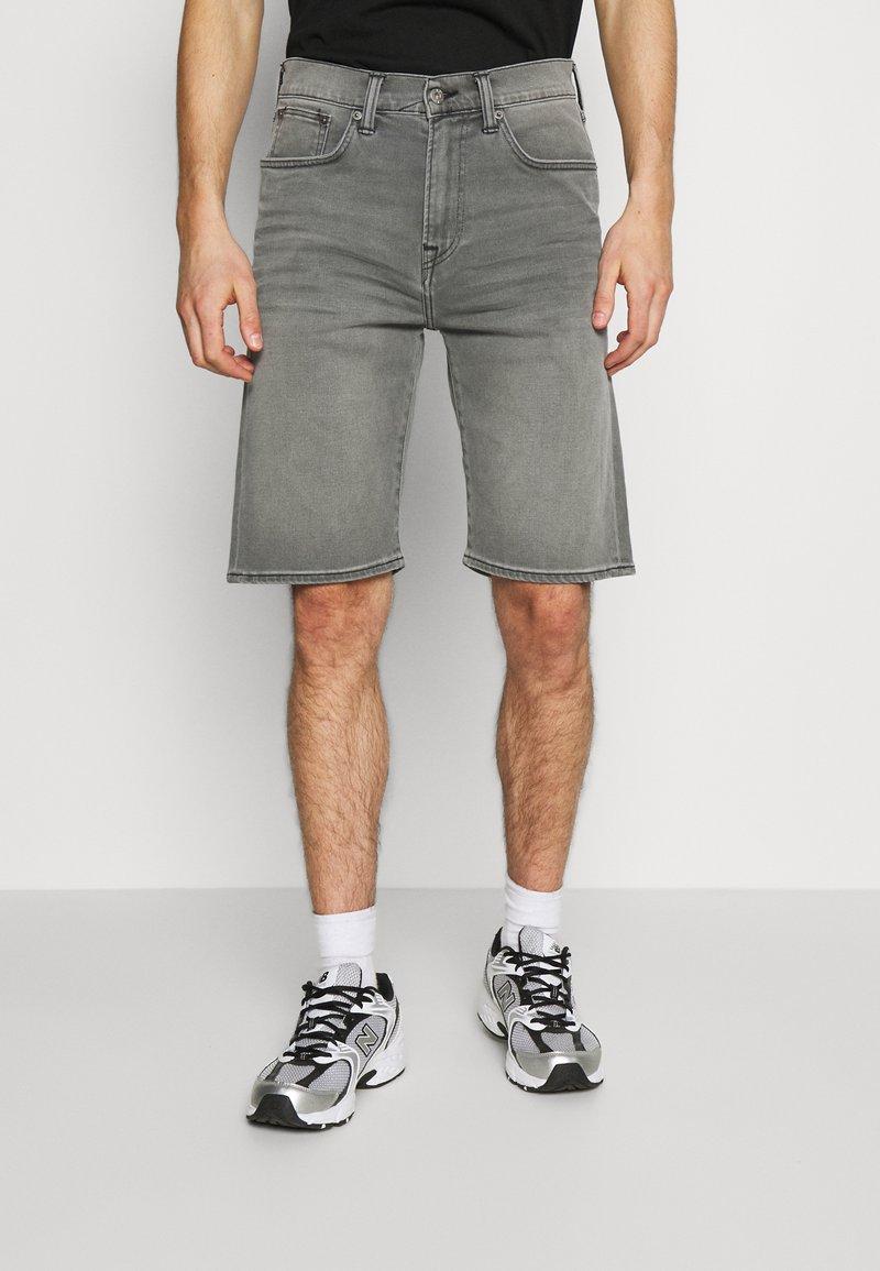 Edwin - Denim shorts - grey denim