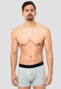 INDICODE JEANS - 7 PACK - Pants - black/grey/navy/white - 3