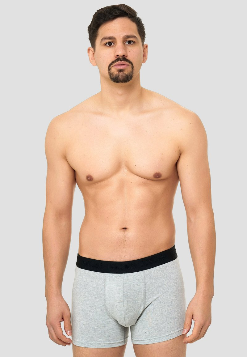 INDICODE JEANS 7 PACK - Panties - black/grey/navy/white/mehrfarbig qGIoW7