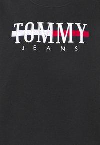 Tommy Jeans - LOGO DRESS - Day dress - black - 6