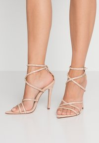 BEBO - SAVANNAH - High heeled sandals - nude - 0