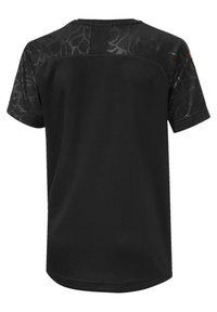 Puma - OLYMPIQUE DE MARSEILLE KIDS' THIRD REPLICA JONGEN - T-shirt print - black - 1