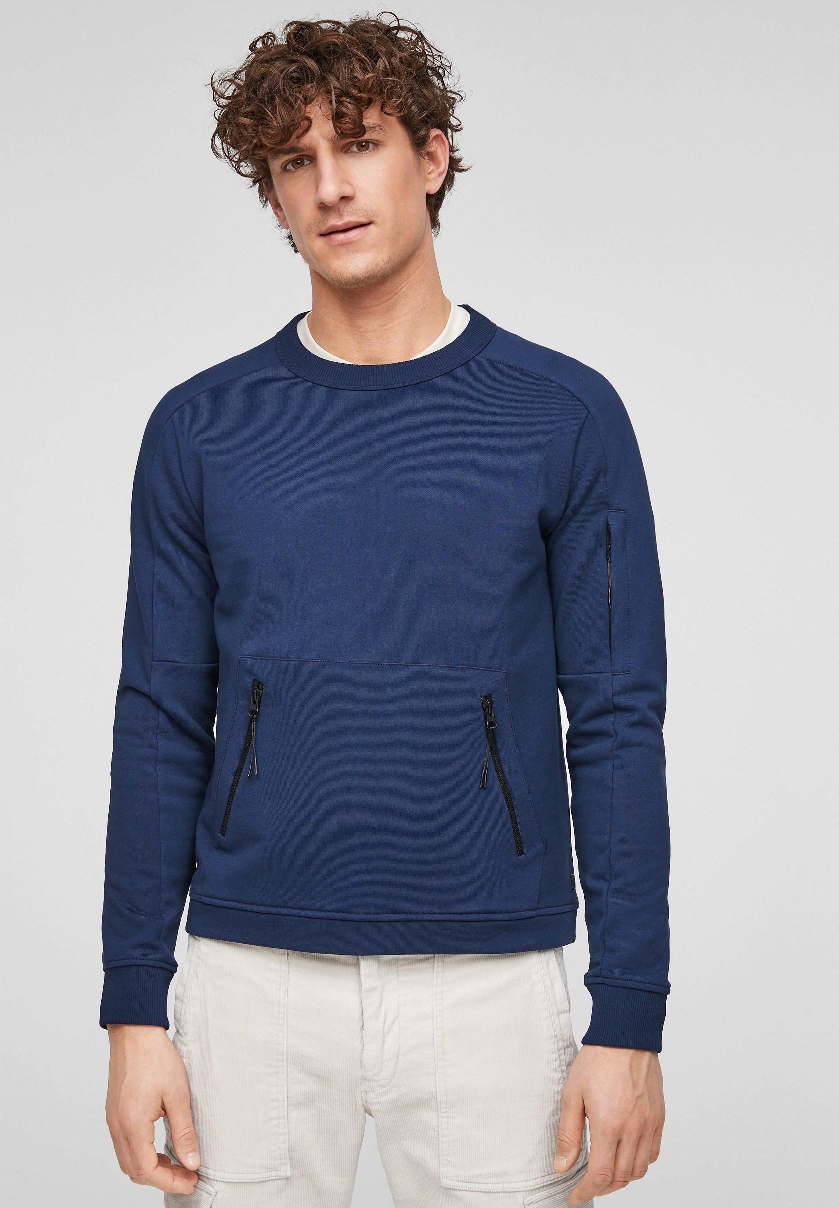 Homme MIT ZIPPER-TASCHEN - Sweatshirt