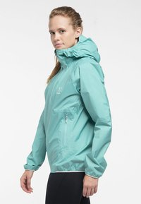 Haglöfs - L.I.M PROOF MULTI JACKET - Waterproof jacket - glacier green - 2