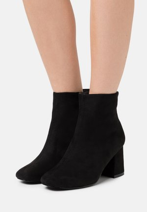 WIDE FIT BARISSA - Ankle boots - black