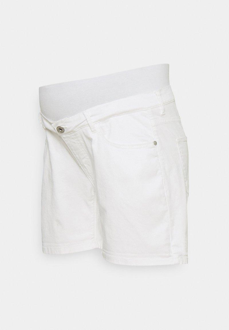 Supermom - Shorts vaqueros - white denim