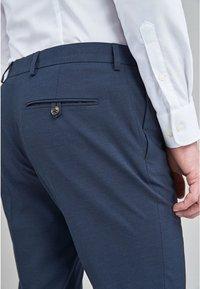 Next - Oblekové kalhoty - dark blue - 2