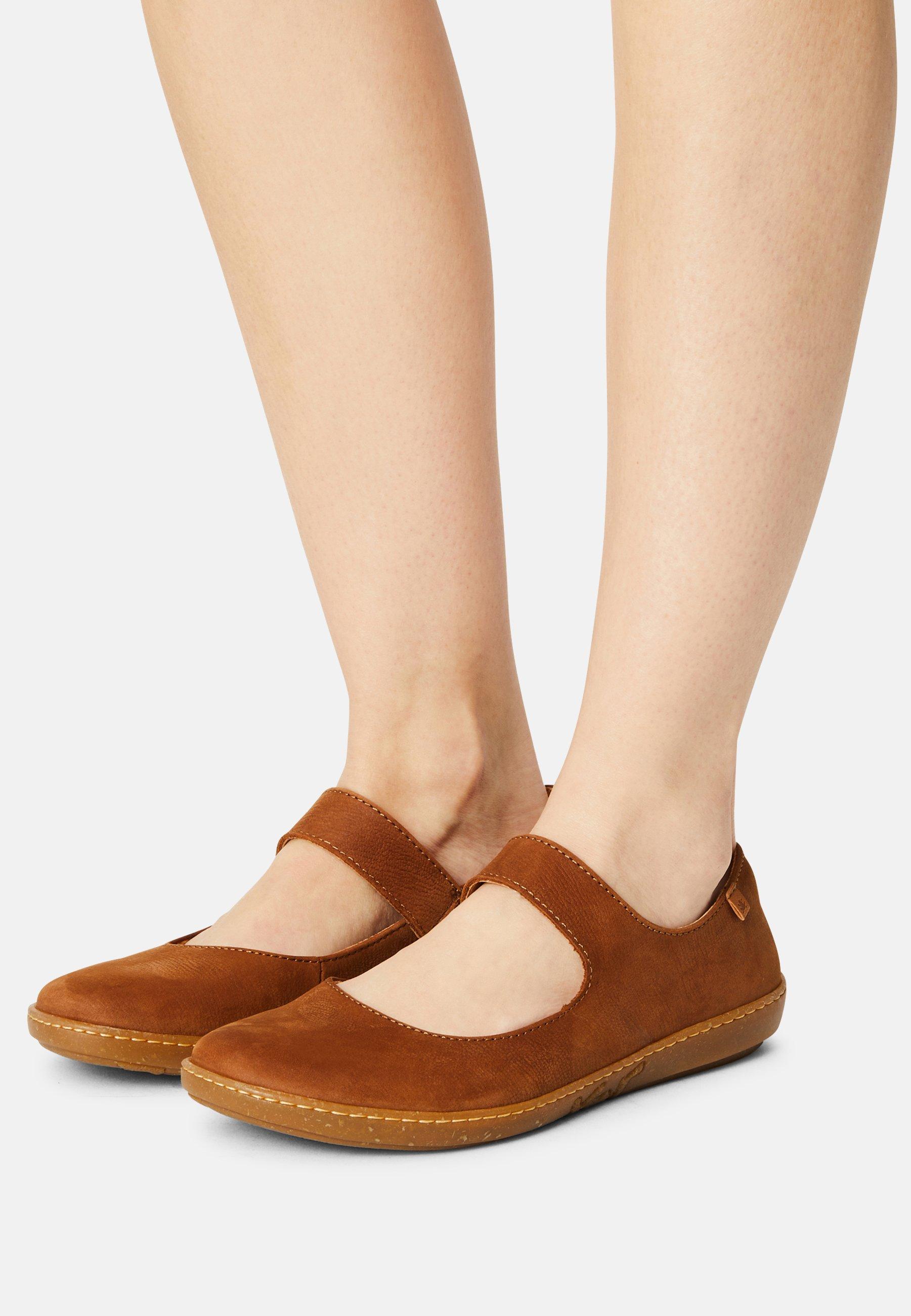Women CORAL - Ankle strap ballet pumps