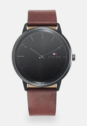 HENDRIX - Klocka - brown/black
