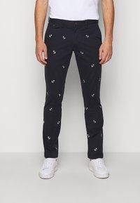 Polo Ralph Lauren - SLIM FIT BEDFORD PANT - Chino kalhoty - aviator navy - 0