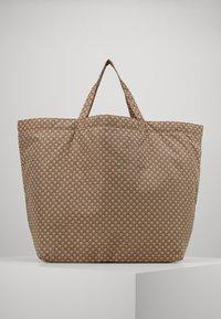 InWear - TRAVEL TOTE BAG - Tote bag - beige/black - 1