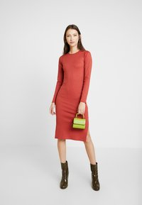 Gina Tricot - SASSI DRESS - Shift dress - rust - 2